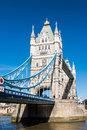 LONDON/UK - MARCH 7 : Tower Bridge In London On March 7, 2015. U Stock Photos - 74322143