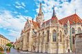 St. Matthias Church In Budapest. One Of The Main Temple In Hunga Royalty Free Stock Photo - 74324555