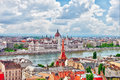 Panorama View On Budapest City From Fisherman Bastion. Stock Photos - 74325033