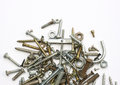 Screws, Nuts And Bolts Royalty Free Stock Photo - 74352825