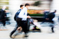 Walking Commuters At Rush Hour Stock Photography - 74354192