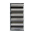 Metal Ventilation Grille Isolated On White Stock Photo - 74365450