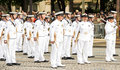 The Australian Royal Navy Participate In Bastille Day Military P Stock Images - 74387784