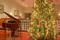Christmas Tree And Piano Royalty Free Stock Image - 7440576