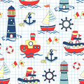 Colorful Baby Seamless Background. Children Pattern. Stock Photography - 74400082