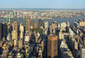 New York City Manhattan Street Aerial View With Skyscrapers Royalty Free Stock Photo - 74432985