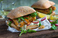 Homemade Fish Sandwich Stock Images - 74441994