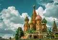 St. Basil`s Cathedral In Moscow Royalty Free Stock Photography - 74462017