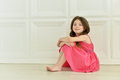 Cute Little Girl Posing Stock Photos - 74485093