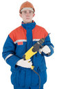 Builder And Perforator Stock Photography - 7450502