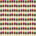 Vector Seamless Pattern With The Drawn Ice Cream Stock Photography - 74512182