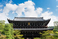 Massive Gate At Chion-in Temple In Higashiyama, Kyoto Stock Photos - 74514283