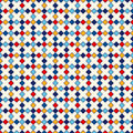 Seamless Pattern With Symmetric Geometric Ornament. Abstract Repeated Bright Squares And Rhombuses Background. Stock Image - 74569231