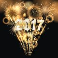 Happy New Year 2017 Royalty Free Stock Photos - 74602608