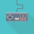 Old Style Gamepad Royalty Free Stock Photography - 74631077