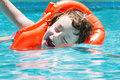 Boy In The Pool Royalty Free Stock Photos - 74672948