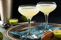 Alcoholic Lime And Gin Gimlet Royalty Free Stock Image - 74689506