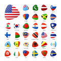 National Flags Royalty Free Stock Photography - 74691607
