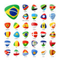 National Flags Royalty Free Stock Photography - 74691677