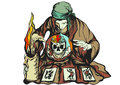 Fortune Teller Royalty Free Stock Photo - 74713975