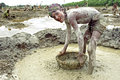 Portrait Of Bangladeshi Boy Working In Gravel Pit Royalty Free Stock Image - 74752046