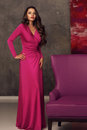 Girl In Pink Dress Royalty Free Stock Photography - 74760837