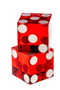 Red Dice On White Royalty Free Stock Images - 74783579