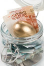 Money In A Pot. Royalty Free Stock Photography - 7488247