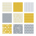 Gold And Silver Dots Vector Seamless Pattern Royalty Free Stock Images - 74811229