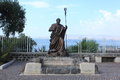 Saint Peter Statue On The Sea Of Galilee Royalty Free Stock Photography - 74826907