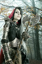 Dark Red Riding Hood Royalty Free Stock Photography - 74856177