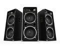 Large Audio Speakers Stock Images - 74898174