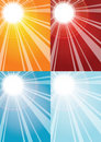 Sun Rays Backgrounds Stock Photo - 7495450