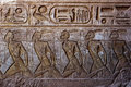 A Engraving On The Wall Leading Into The Great Temple Of Ramses II At Abu Simbel In Egypt. Stock Photos - 74950203
