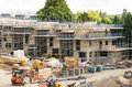 Construction Of New Housing In England Stock Images - 74980424