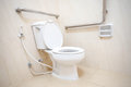 Toilet For Disability People Royalty Free Stock Photography - 74994397