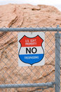 No Trespassing  Sign Royalty Free Stock Images - 758069