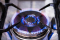 Burning Gas Cooker Royalty Free Stock Images - 7500889