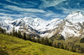 Beautiful View Of Alps Mountains. Spring In National Park Hohe Tauern, Austria. Stock Photography - 75007602