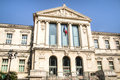 Facade Of The Palais De Justice In Nice, France Royalty Free Stock Image - 75100106