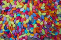 Close-up Background Of Multi Colored Chocolate Candy Stock Photo - 75134350