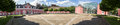 Castle Oberhausen Germany High Definition Panorama Royalty Free Stock Image - 75136126