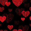 Love Heart Seamless Pattern. Happy Valentines Day Wallpaper. Lov Royalty Free Stock Photography - 75144817