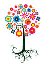 Fantastic Colourful Tree Stock Photography - 75175712