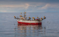 Small Fishing Boat Stock Images - 75185324