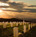 Cemetery World War II Royalty Free Stock Photo - 7521555