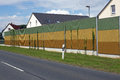 Noise Barrier Wall Stock Photography - 75208922