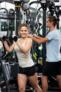 Active People Having Weightlifting Training Royalty Free Stock Images - 75214369
