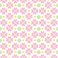 Cute Valentine S Seamless Pattern With Hearts Royalty Free Stock Photo - 75252365