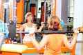 Woman At The Gym Stock Images - 75264054